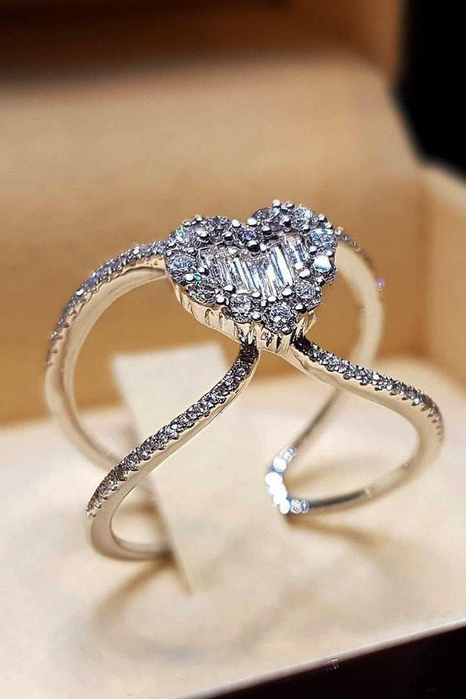 white gold engagement rings modern engagement rings heart cut engagement rings best engagement rings ring boxes