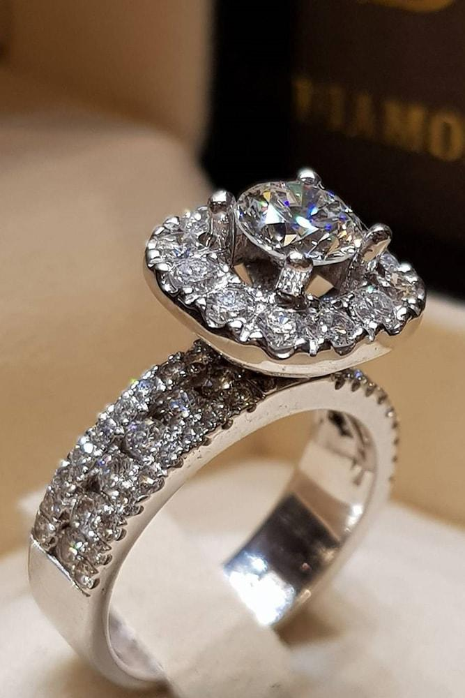 white gold engagement rings modern engagement round engagement rings halo rings best engagement rings ring boxes