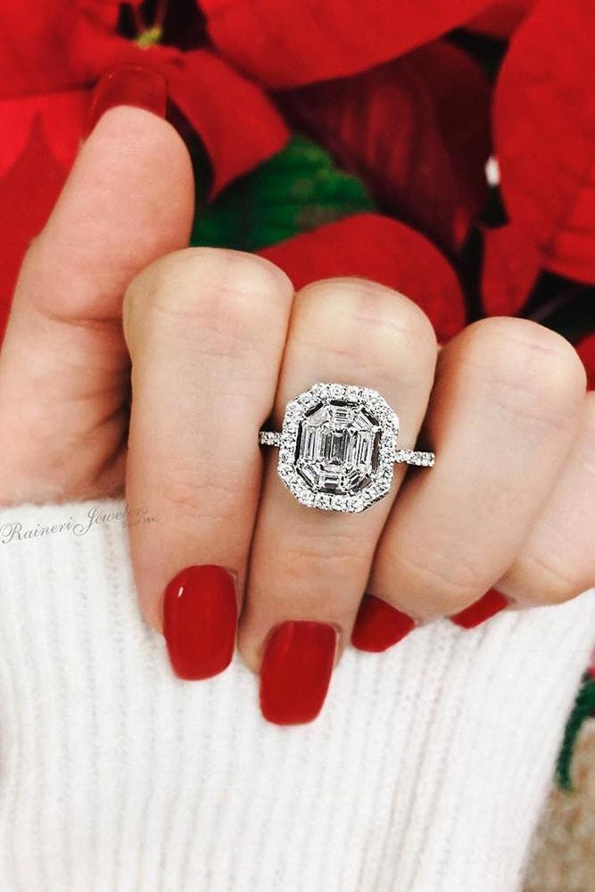 white gold engagement rings unique engagement rings pave band engagement rings best engagement rings