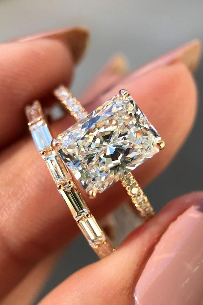 wedding ring sets diamond wedding ring sets emerald cut engagement rings rose gold engagement rings solitaire engagement rings