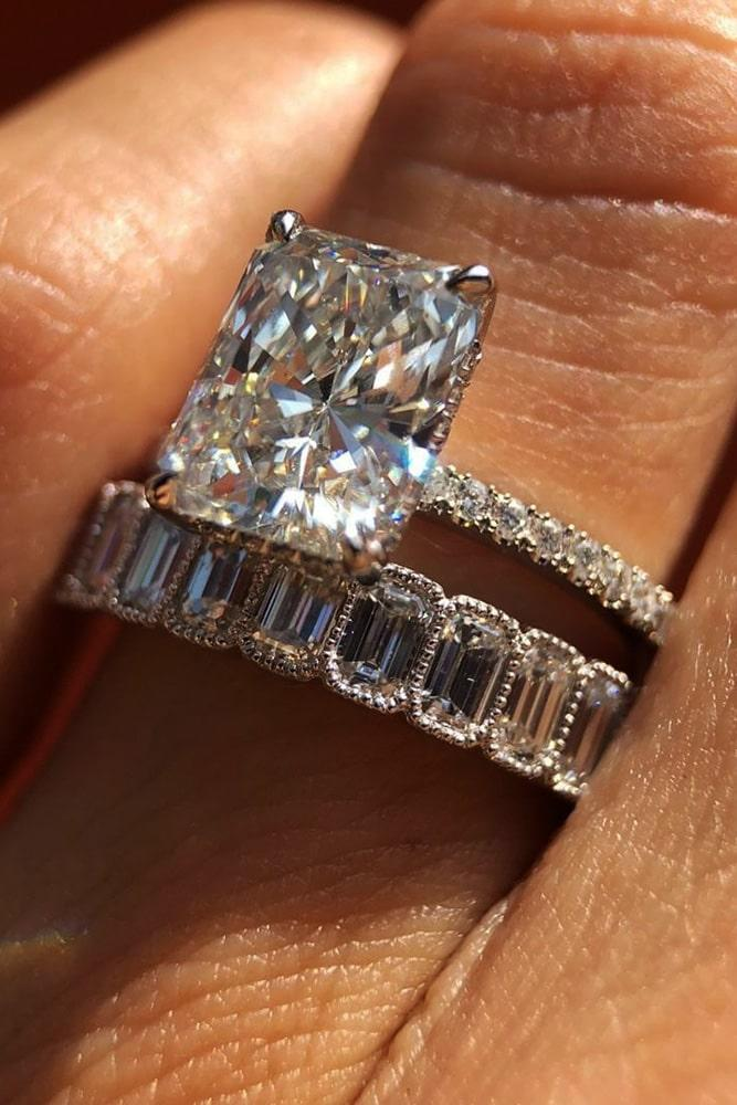 wedding ring sets diamond wedding ring sets emerald cut engagement rings white gold engagement rings solitaire engagement rings