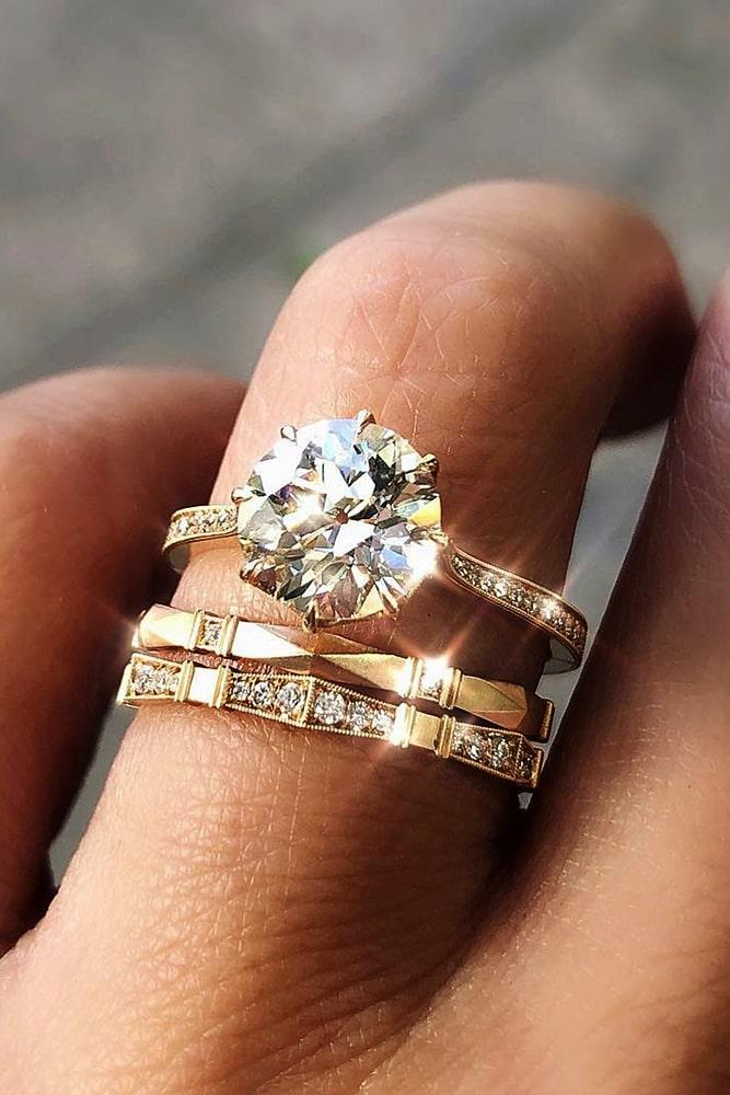 wedding ring sets diamond wedding ring sets round engagement rings rose gold engagement rings solitaire engagement rings