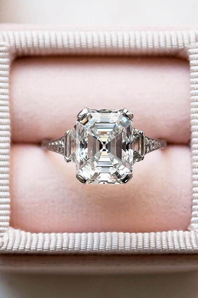 beautiful engagement rings diamond engagement rings best engagement rings emerald cut engagement rings solitaire rings ring boxes