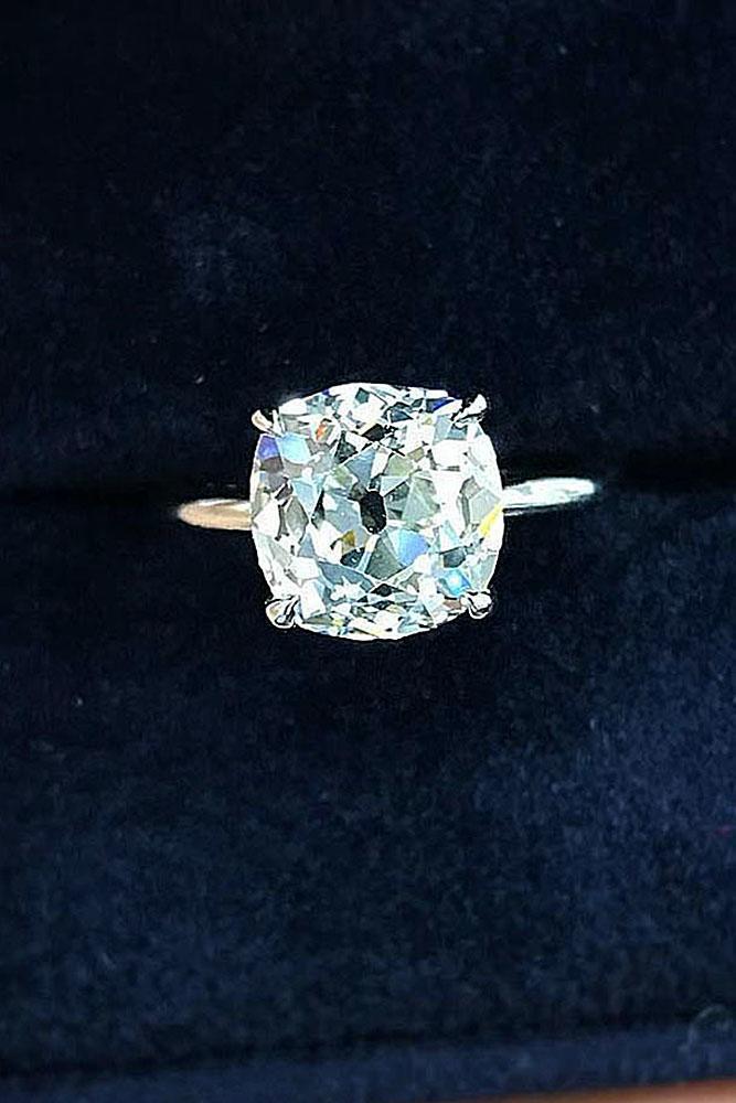 best engagement rings white gold engagement rings simple engagement rings solitaire engagement rings cushion cut diamond