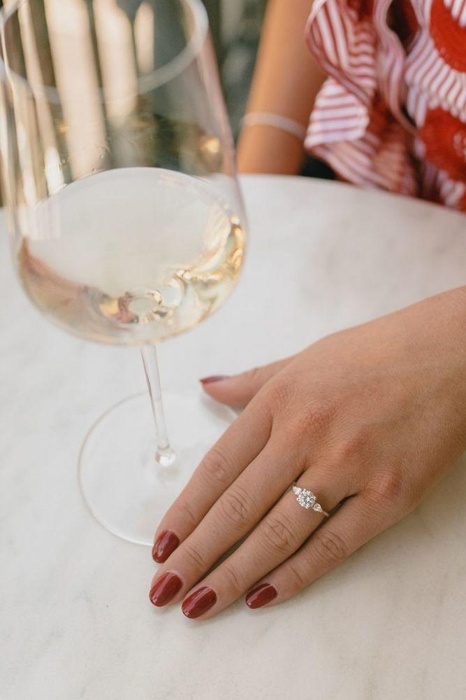 classic engagement rings princess cut classic rings1
