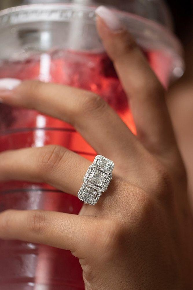 classic engagement rings with stunning details