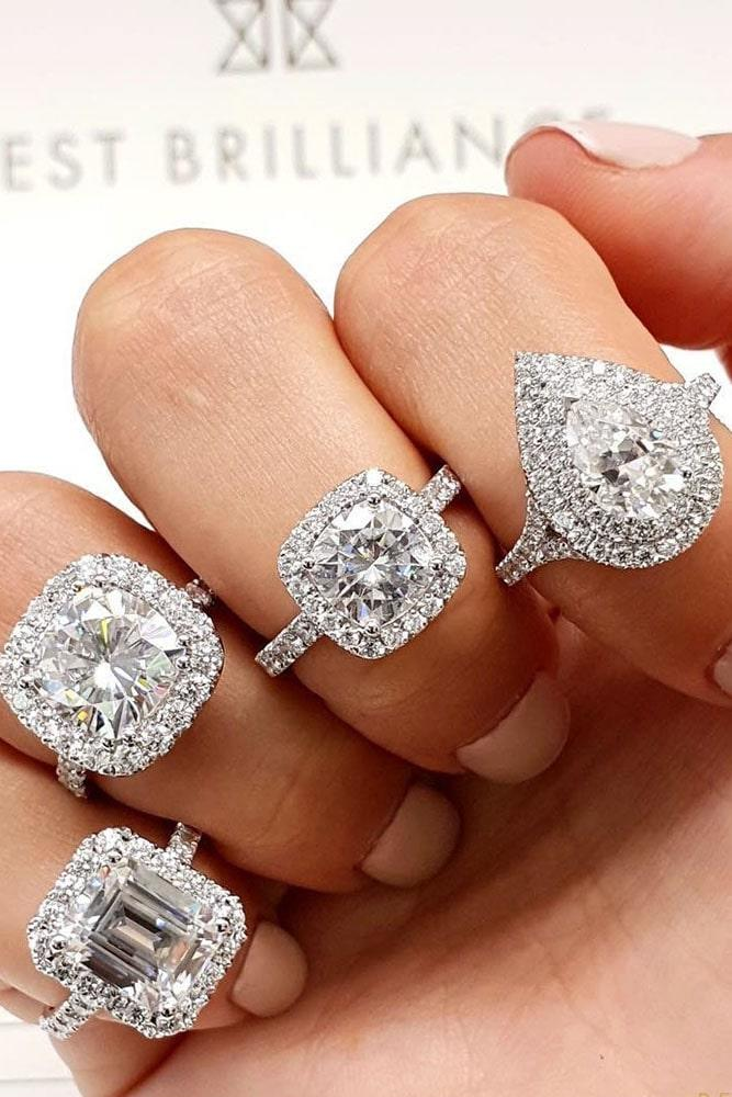 diamond engagement rings halo engagement rings best engagement rings beautiful engagement rings