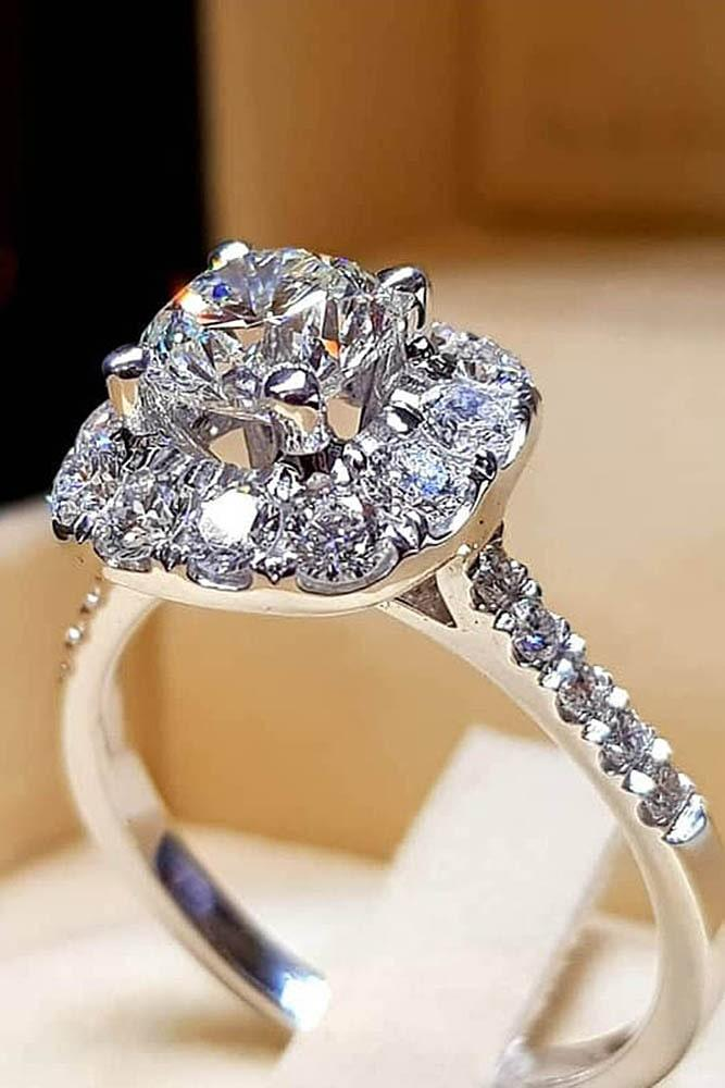diamond engagement rings halo engagement rings best engagement rings beautiful engagement rings unique rings