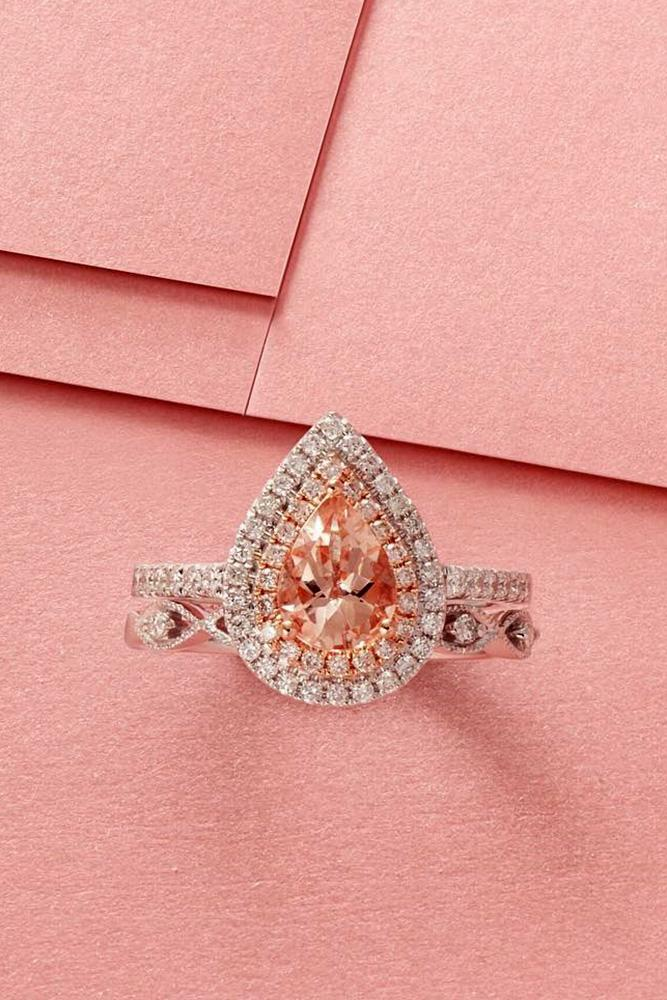 pear shaped engagement rings white gold engagement rings diamond engagement rings best engagement rings bridal sets