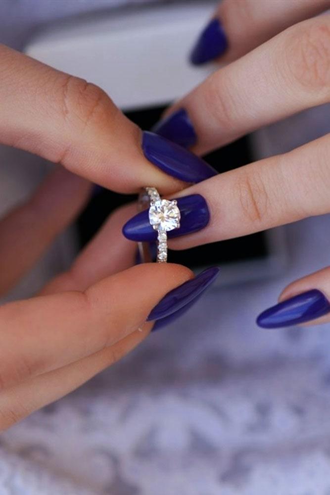 white gold engagement rings simple engagement rings round engagement rings best engagement rings