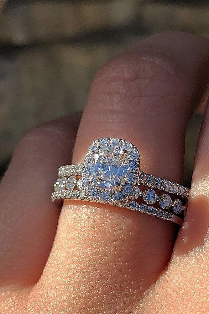 diamond wedding rings white gold wedding rings halo wedding rings round engagement rings beautiful rings