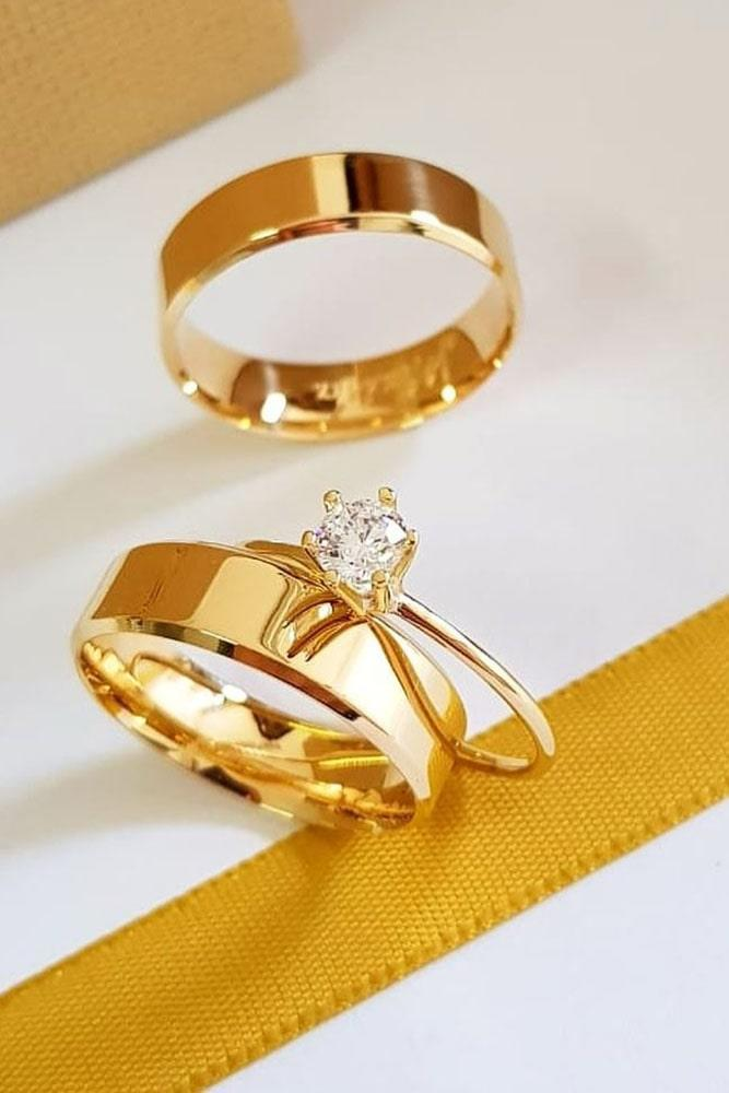 rose gold engagement rings wedding ring sets diamond engagement ring classic rings beautiful rings solitaire rings