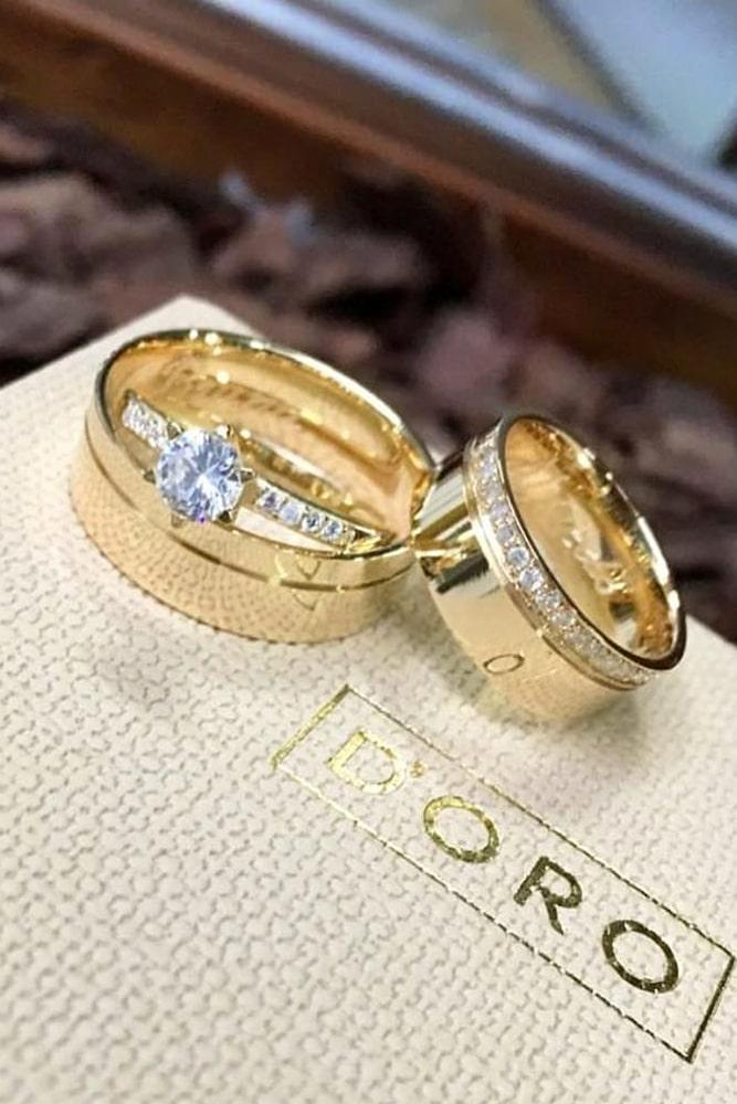rose gold engagement rings wedding ring sets diamond ring classic rings beautiful rings solitaire rings