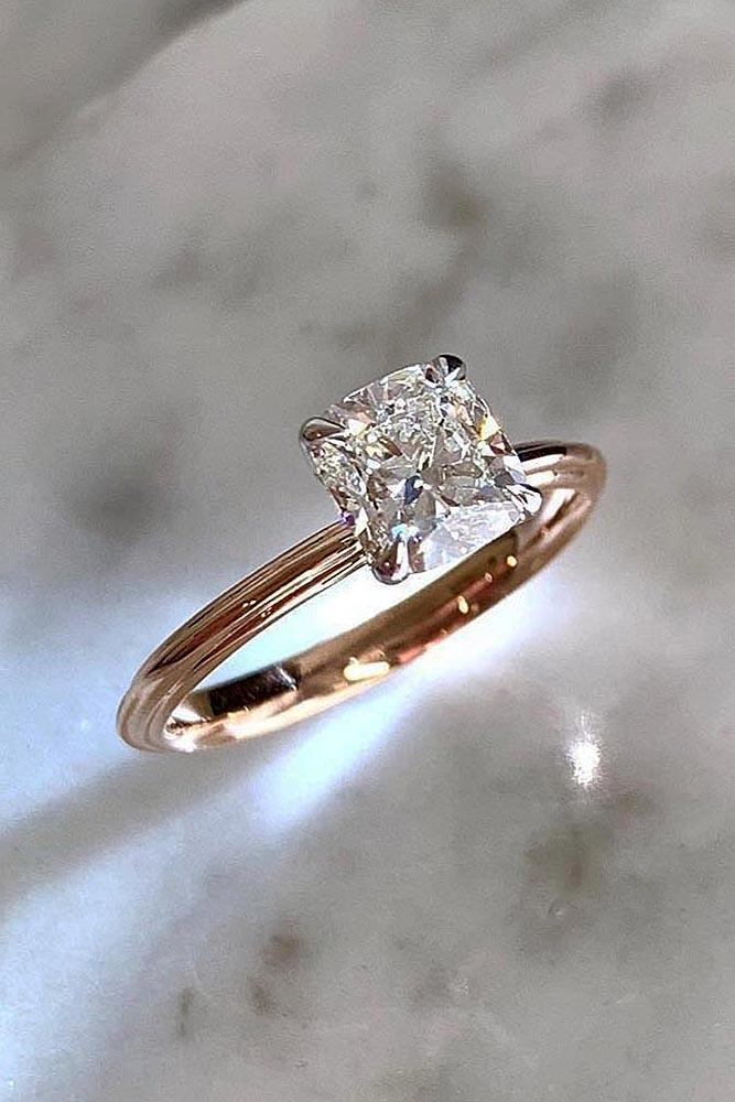 simple engagement rings rose gold engagement rings solitaire engagement rings diamond engagement rings