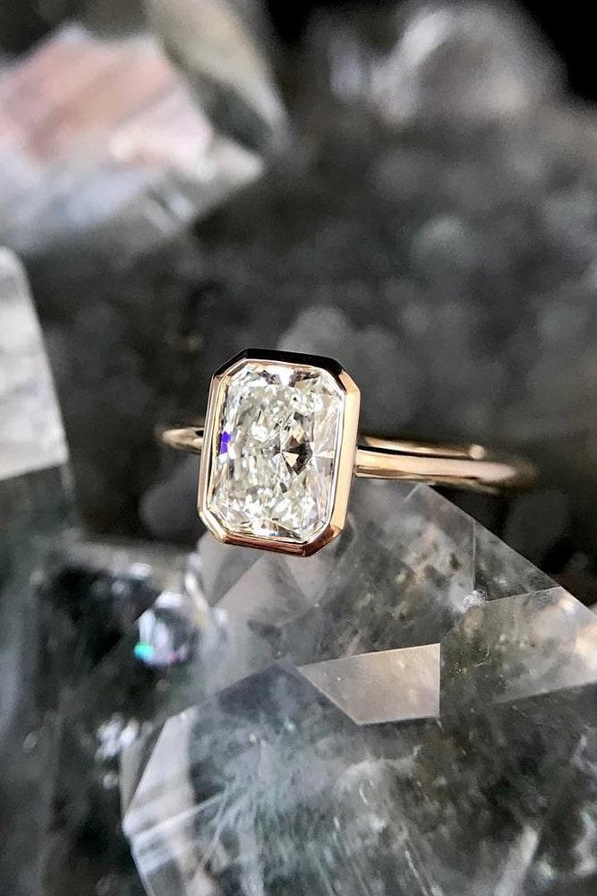 solitaire engagement rings simple engagement rings emerald cut engagement rings whitee gold engagement rings