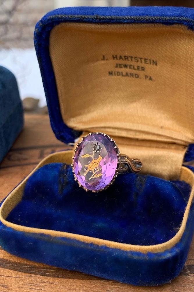 vintage enagement rings unique engagement rings oval cut engagement rings gemstone engagement rings ring boxes