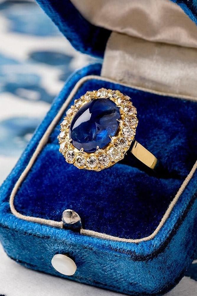 vintage engagement rings sapphire engagement rings ring boxes halo engagement rings oval engagement rings