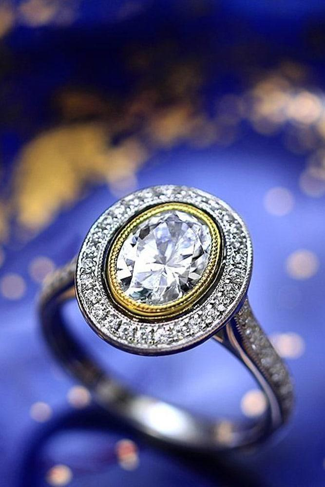 vintage engagement rings white gold engagement rings diamond engagement rings halo engagement rings unique rings