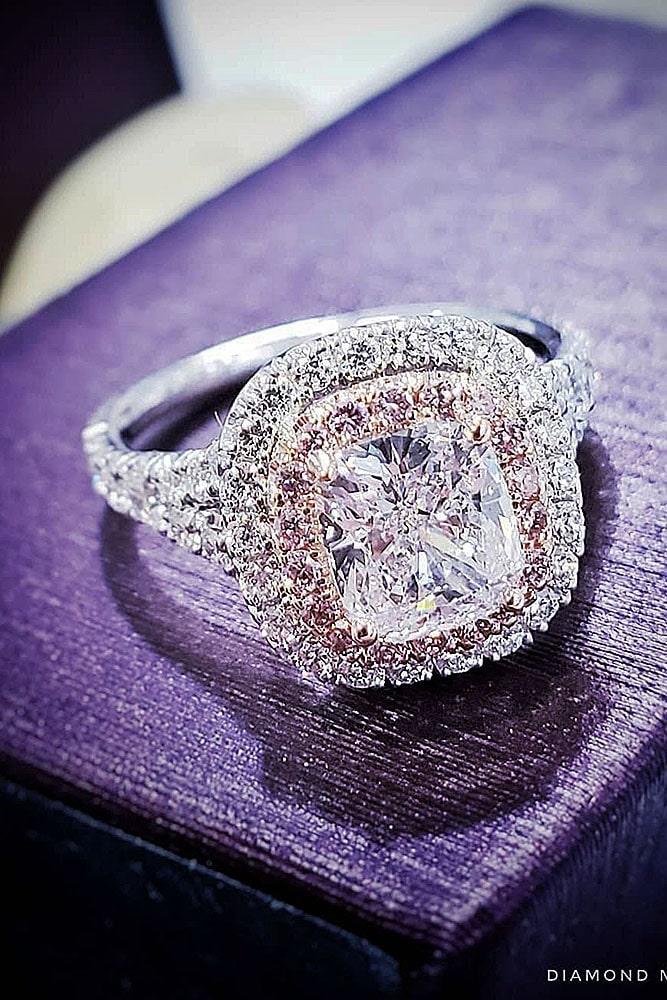 white gold engagement rings diamond engagement rings cushion cut engagement rings halo engagement rings best rings