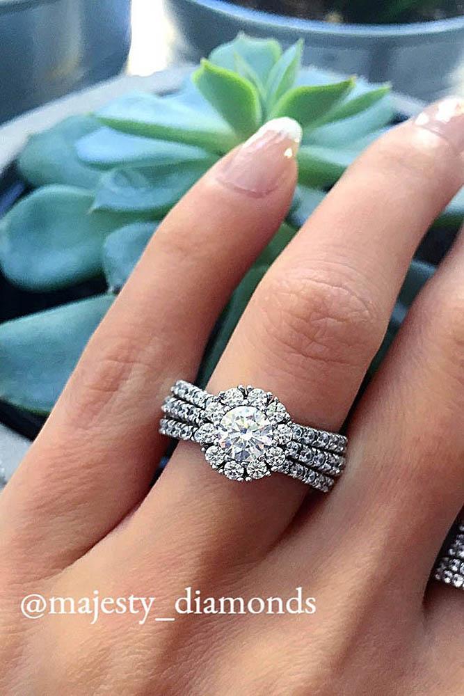 white gold engagement rings diamond engagement rings round cut engagement rings halo engagement rings best rings