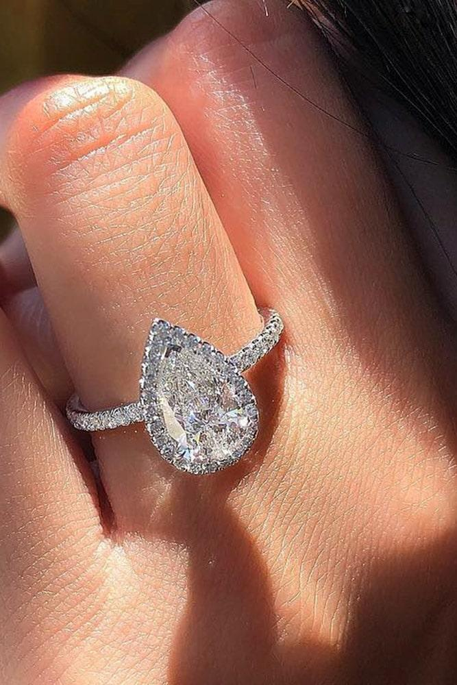 beautiful engagement rings pear cut engagement rings white gold engagement rings diamond engagement rings