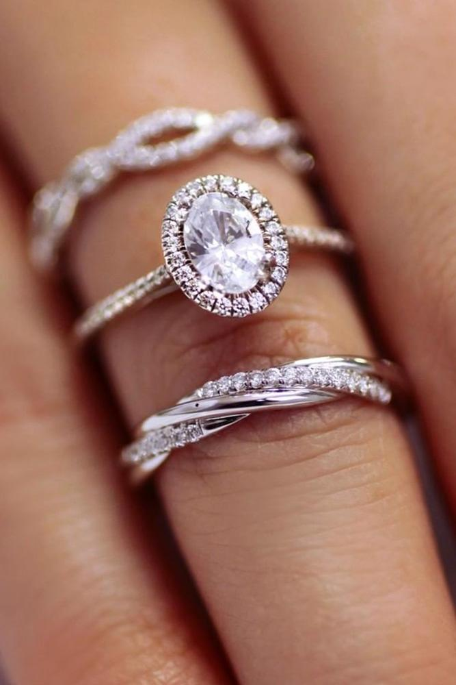 bridal sets oval cut engagement rings diamond engagement rings wedding ring sets wedding rings white gold engagement rings halo rings