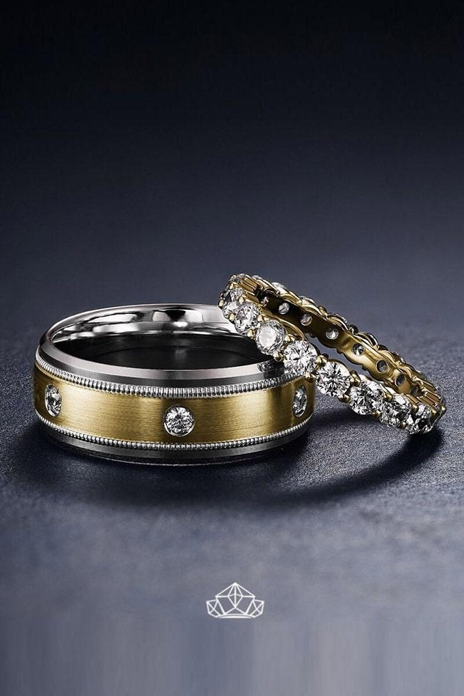 bridal sets white gold bridal sets diamond rings round engagement rings for him and for her