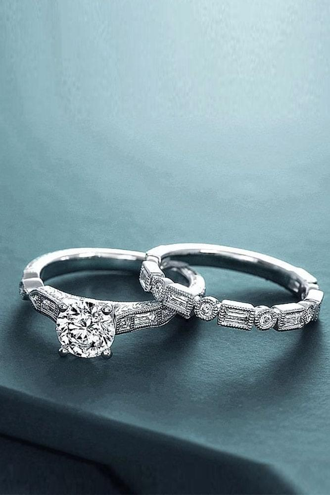bridal sets white gold wedding ring sets diamond wedding rings solitaire engagement rings simple engagement rings