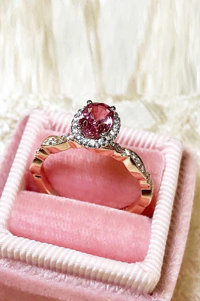 colored engagement rings rose gold engagement rings diamond engagement rings halo engagement rings gemstone engagement rings