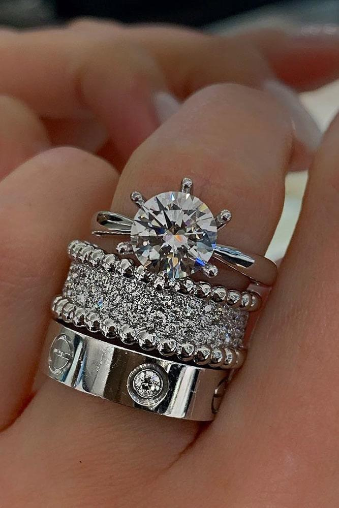 diamond engagement rings wedding ring sets white gold engagement rings