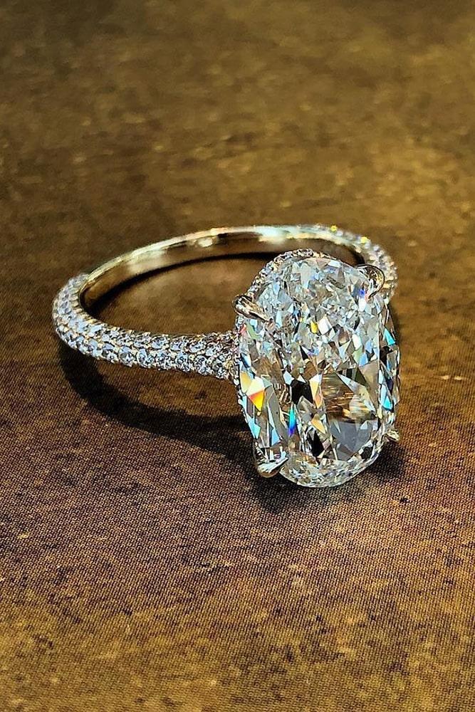 diamond engagement rings white gold engagement rings oval cut engagement rings