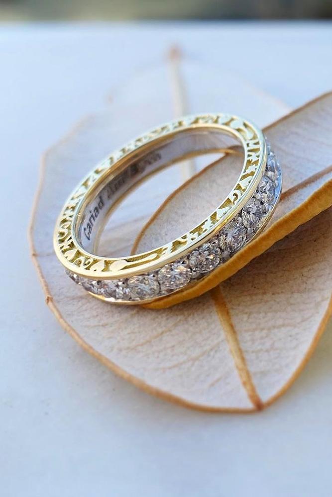 diamond wedding rings wedding bands yellow gold wedding bands round diamond wedding bands unique wedding bands