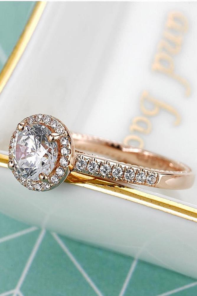 engagement ring designers halo engagement rings round diamond engagement rings beautiful rings rose gold