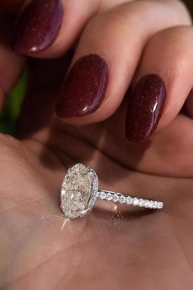 oval engagement rings diamond engagement rings white gold engagement rings simple engagement rings