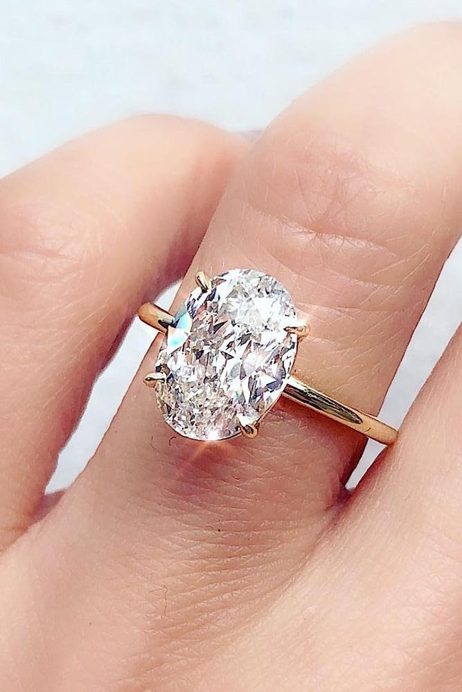 oval engagement rings rose gold engagement rings simple engagement rings diamond engagement rings