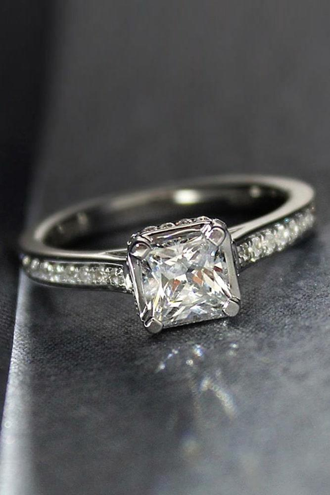 simple engagement rings classic engagement rings princess cut engagement rings white gold engagement rings
