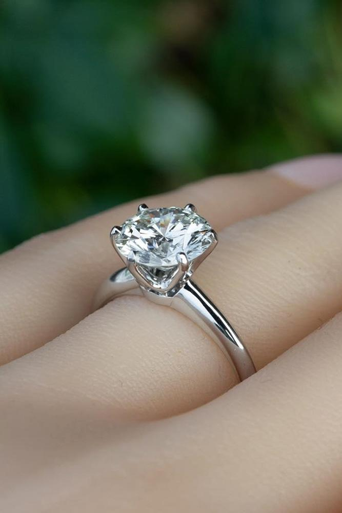 simple engagement rings round engagement rings diamond engagement rings white gold engagement rings