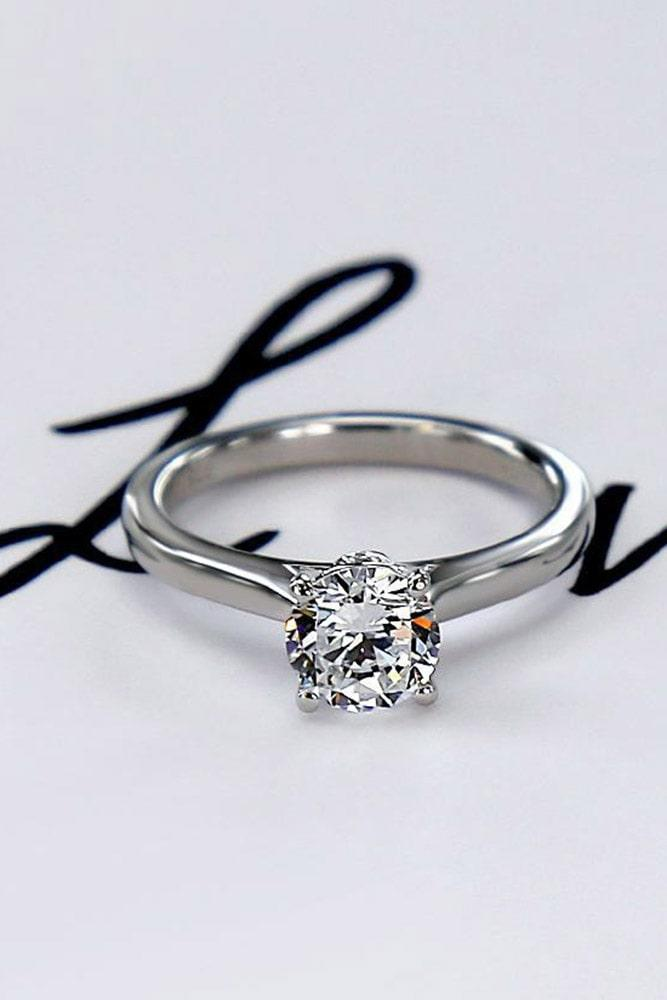 simple engagement rings white gold engagement rings round diamond engagement rings solitaire engagement rings