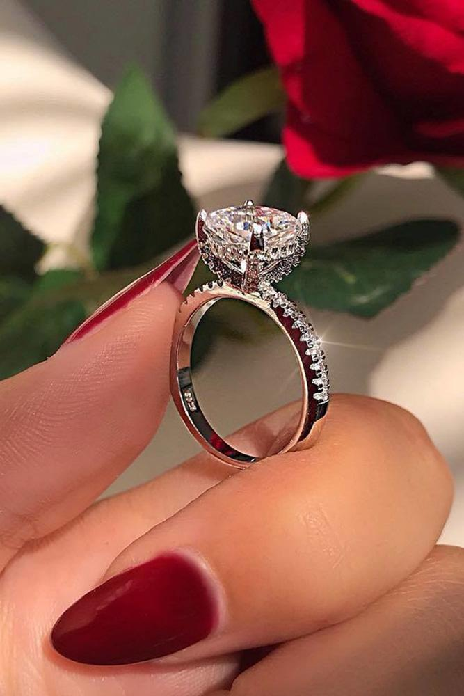 solitaire engagement rings diamond engagement rings white gold engagement rings best engagement rings