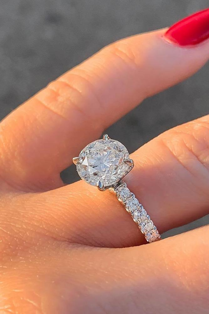 solitaire engagement rings white gold engagement rings round diamond engagement rings diamond engagement rings