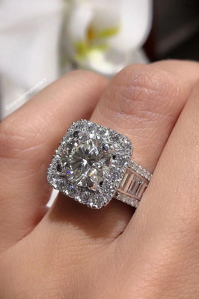 unique engagement rings diamond engagement rings halo engagement rings
