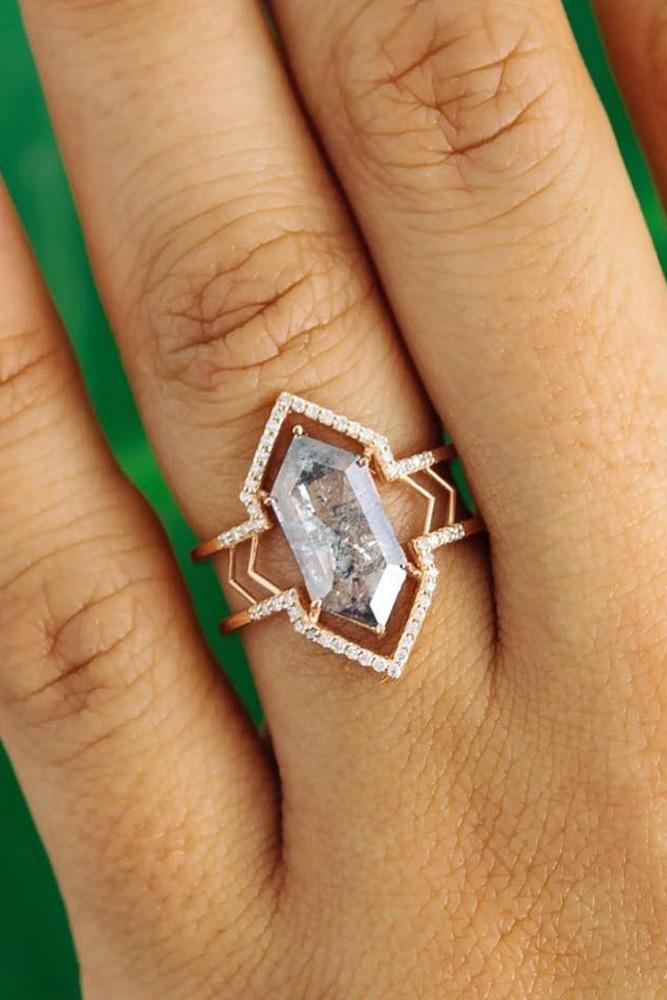 unique engagement rings diamond engagement rings rose gold engagement rings beautiful engagement rings