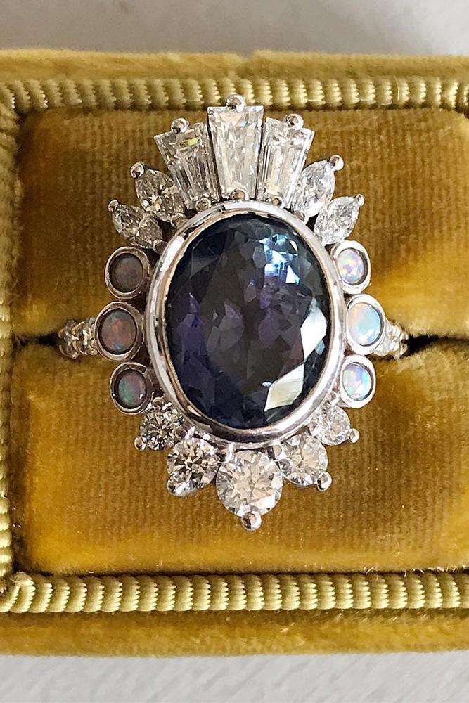 unique engagement rings gemstone engagement rings white gold engagement rings halo engagement rings ring boxes