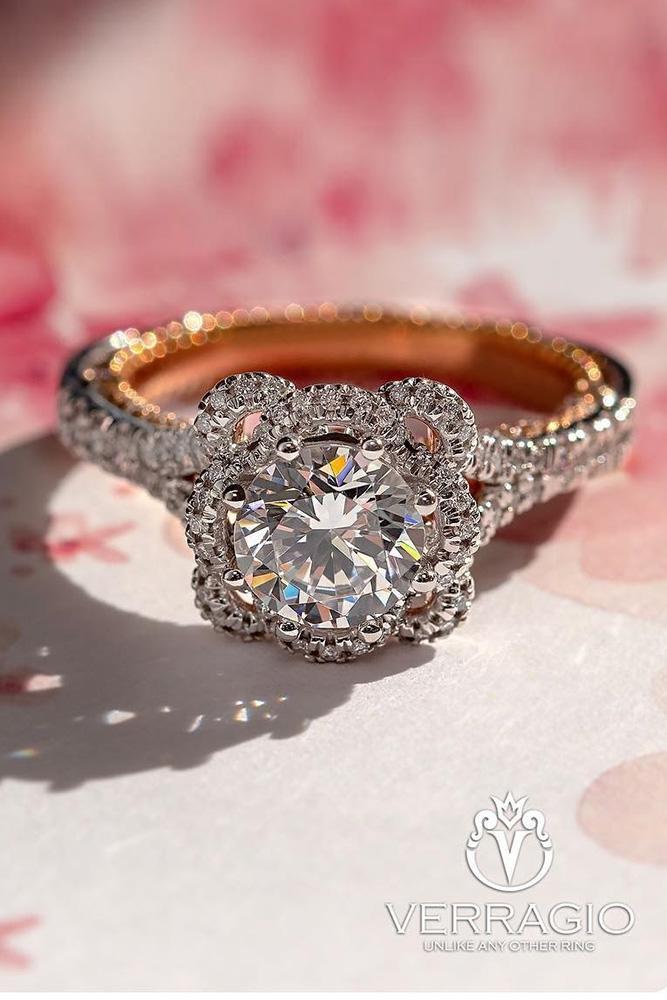 unique engagement rings round diamond engagement rings two tone engagement rings beautiful engagement rings