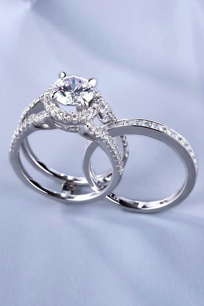 unique engagement rings white gold engagement rings diamond rings modern rings