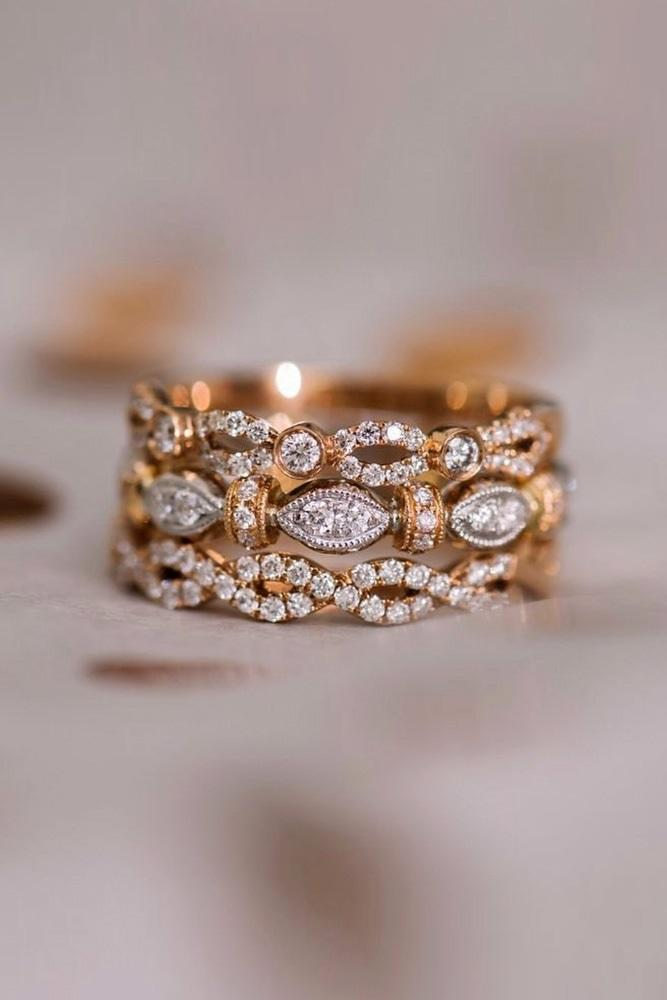 unique wedding rings wedding ring sets rose gold engagement rings wedding bands beautiful wedding bands diamond wedding bands