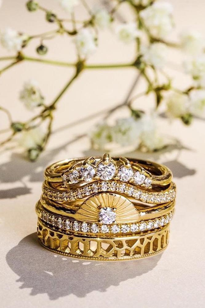 unique wedding rings wedding ring sets yellow gold engagement rings wedding bands beautiful wedding bands diamond wedding bands