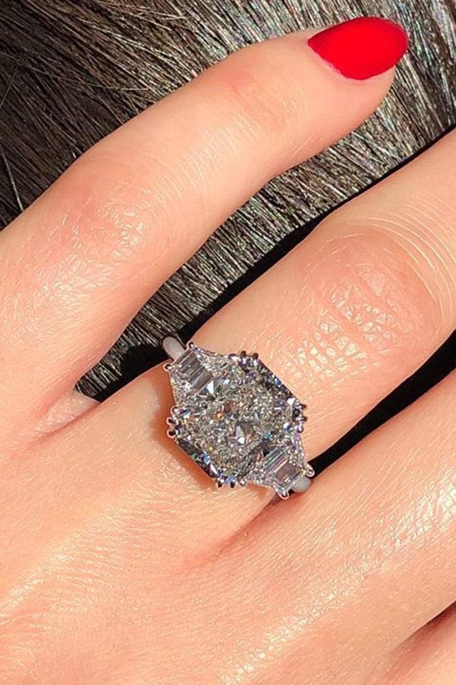 white gold engagement rings diamond engagement rings emerald cut engagement rings best rings