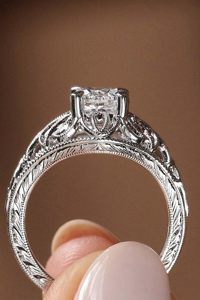 white gold engagement rings diamond engagement rings unique engagement rings beautiful engagement rings