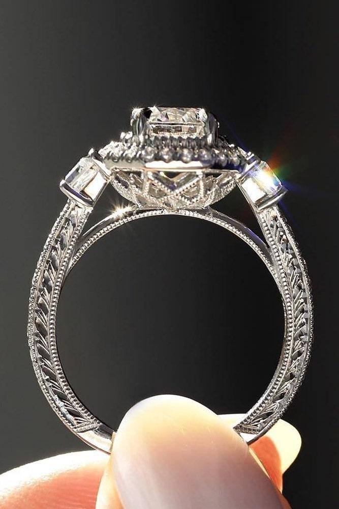 white gold engagement rings diamond engagement rings unique engagement rings best engagement rings